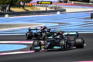 Mercedes, Fransa GP öncesinde Bottas ve Hamilton'ın şasilerini değiştirdi