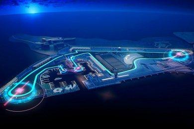 Abu Dhabi F1 pistine oval viraj ekl...