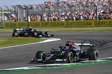 Mercedes'in, Britanya GP'de iyi per...