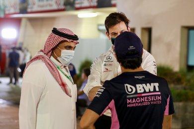 Suudi Arabistan F1 organizatörleri,...