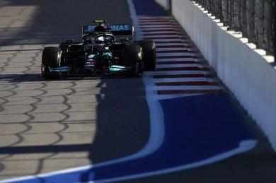 Mercedes, sıralama turları öncesind...