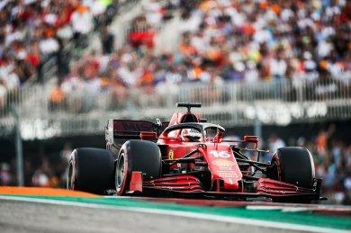 Leclerc, Austin sıralamalarında Ferrari'nin McLaren'den hızlı olmasına şaşırmış