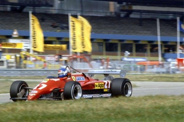 Almanya GP 1982 - Patrick Tambay (F...