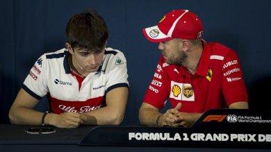 Vettel: Leclerc'in Ferrari için ace...