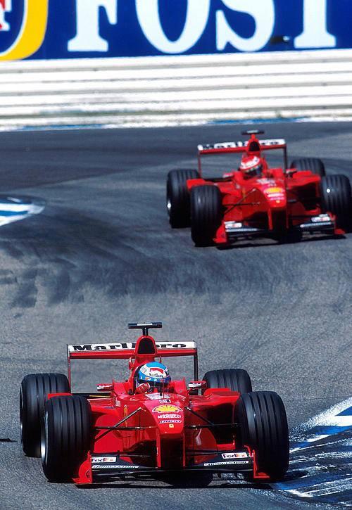 Almanya GP 1999 - Mika Salo ve Eddi...
