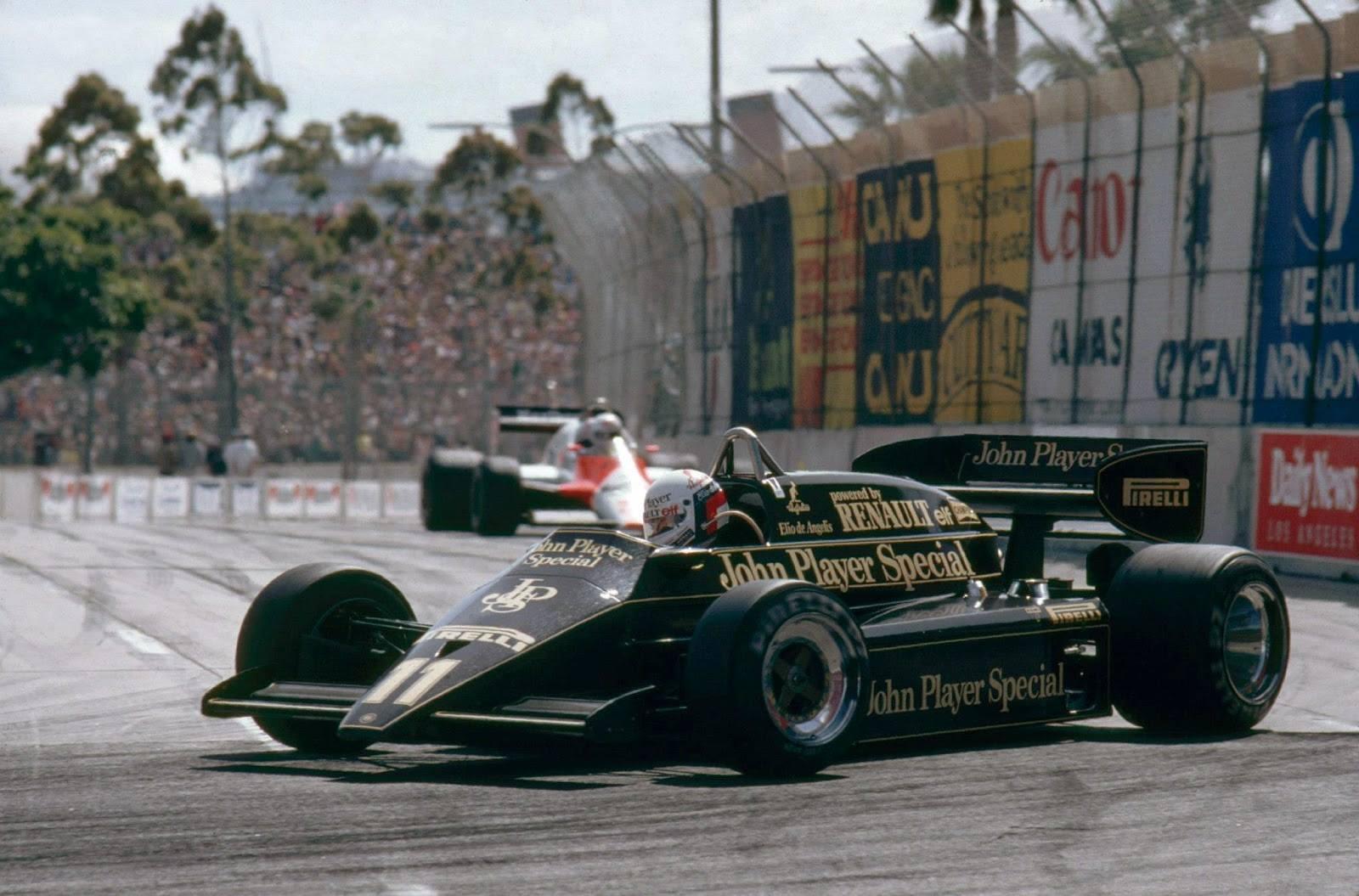 Amerika GP 1983 - Elio de Angelis (...