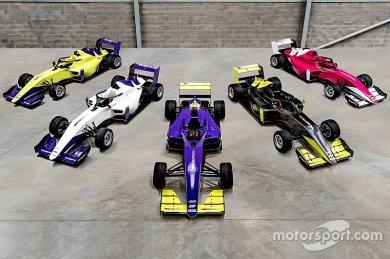 W Series araçları ilk kez final testinde kullanılacak